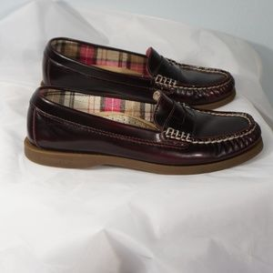 Sperry Top-Sider Burgundy Loafer Size 6.5M